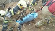 تصاویر | کارگر ایرانی زیر آوار ساختمانی در حکیمیه جان باخت
