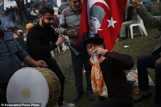 جشنواره کشتی شترها در ترکیه