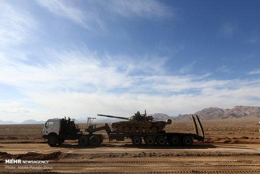آغاز رزمایش بزرگ اقتدار ۹۷ نیروی زمینی ارتش