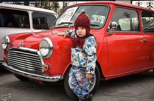 گردهمایی خودروهای کلاسیک در لاهیجان