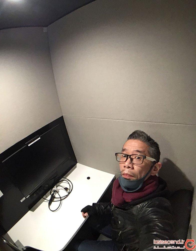 اتاق کار کپسولی ژاپن