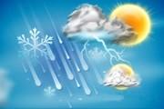 احتمال بارش تگرگ در برخی نقاط اصفهان/ پیشبینی گرد و خاک محلی در شرق استان