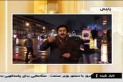 فیلم | پوستر حاج قاسم سلیمانی در دست معترضان جلیقه زرد پاریسی