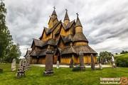 عجیبترین و زیباترین کلیساهای تمامچوبی جهان +تصاویر