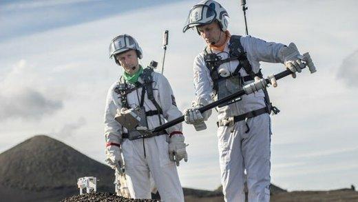فضانوردان اروپایی راهپیمایی در ماه را تمرین کردند