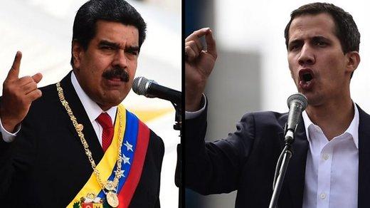 اینفوگرافیک | حامیان گوایدو بیشتر است یا مادورو؟