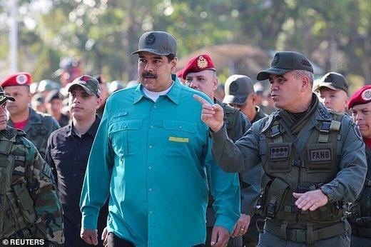 مادورو خطاب به ترامپ: دست از سر ونزوئلا بردار!