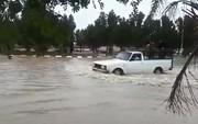 فیلم | سیلی که باران شدید در خوزستان به راه انداخت
