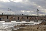 تصاویر | زایندهرود پس از ۱۸ ماه جاری شد