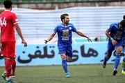 مهاجم استقلال پیکانسوار شد/عکس