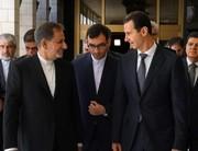 النائب الأول لرئيس الجمهورية في ضیافة الأسد