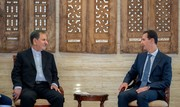 President Assad hails Iran's support for Syria in fight against terrorism
