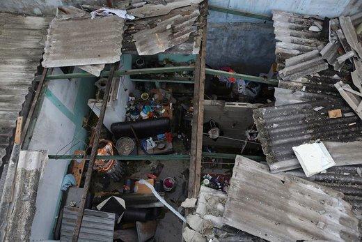 خسارات گردباد در هاوانا
