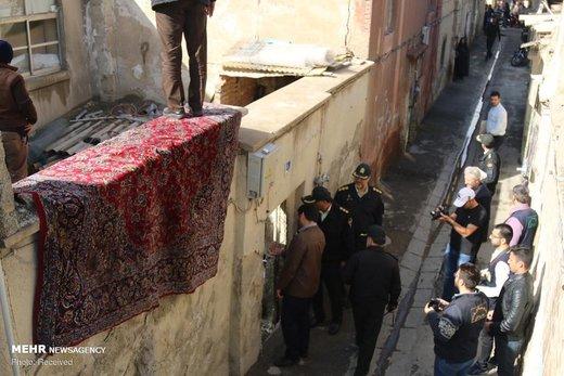 عملیات گسترده پلیس برای برخورد با فروشندگان مواد مخدر در محلههای شوش، مولوی و هرندی