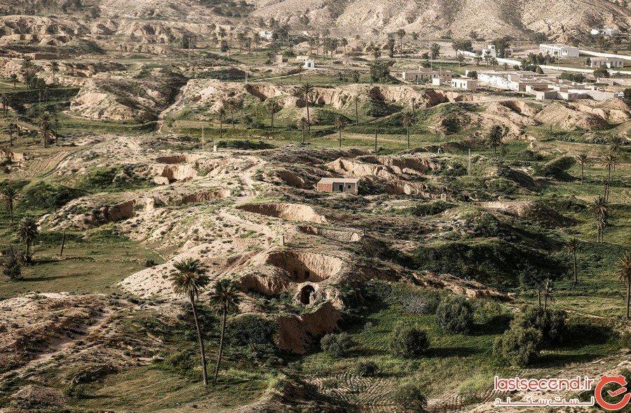 روستای زیرزمینی تونس