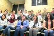 فیلم | تلاش آمریکاییها برای شعر خواندن به فارسی