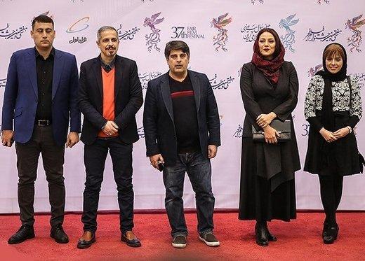 تصاویر | بازیگران سینما روی فرش قرمز جشنواره فجر