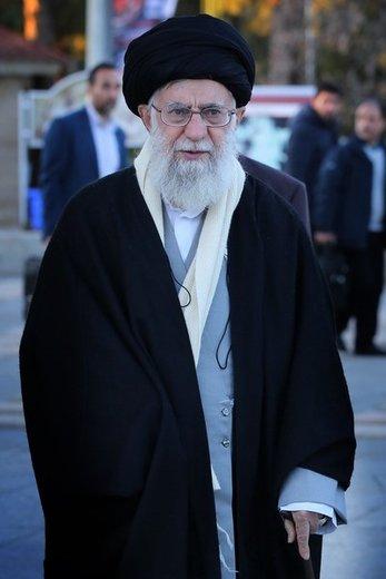 حضور مقام معظم رهبری در مرقد امام خمینی(ره) و گلزار شهدای بهشت زهرا
