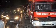 تصادف شدید در بزرگراه یاسینی تهران