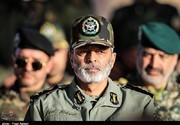 پیام فرمانده کل ارتش به سردار سلامی بعد از موفقیت سپاه در پرتاب اولین ماهواره نظامی