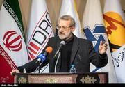 لاریجانی: کشور در حوزه اقتصادی ضعف دارد و این مطلوب نیست