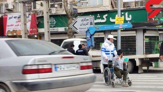 این پلیس ایرانی همه را شگفت زده کرد/ عکس