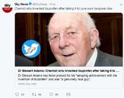 درگذشت سازنده ایبوپروفن در ۹۵ سالگی