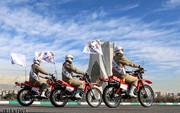 تصاویر | رژه موتورسواران از فرودگاه تا حرم امام(ره)