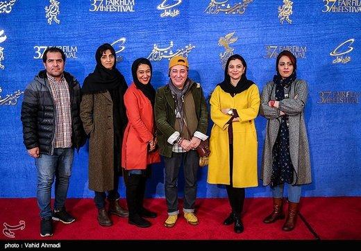 عوامل فیلم بنفشه آفریقایی در دومین روز سیوهفتمین جشنواره فیلم فجر