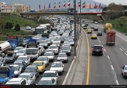 ۱۳ محور مواصلاتی مسدود است/ وضعیت ترافیکی جادهها