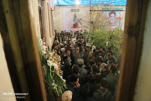 گلباران بیت امام خمینی (ره) در قم