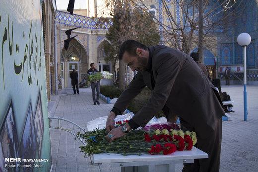 گلباران حجره طلبگی امام خمینی(ره) در اراک