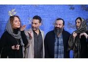 عکس | قهقهه شقایق دهقان، مهراب قاسمخانی و پیمان معادی روی فرش قرمز