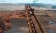 فیلم | لحظه هولناک شکستن سد و بلعیده شدن قطار باری در برزیل