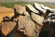 کشف تعدادی سنگنگاره تاریخی در اردستان
