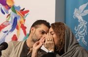 فیلم و عکس | سانسور بازیگران زن جشنواره در برنامه «هفت»