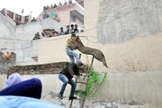 تصاویر | حمله پلنگ به مردم در هند