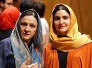 عکس | گلاب آدینه و دخترش در جشنواره فیلم فجر
