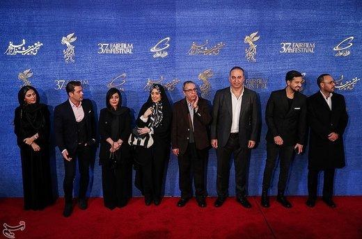 عوامل فیلم سمفونی نهم در سیوهفتمین جشنواره فیلم فجر