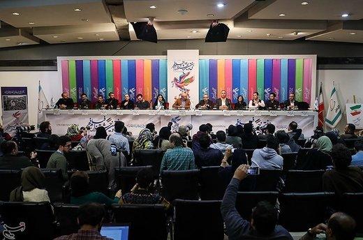 نشست خبری فیلم سمفونی نهم - سیوهفتمین جشنواره فیلم فجر