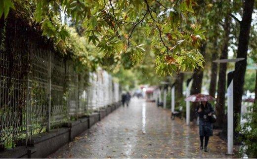 ۳ روز بارانی پیش روی کشور