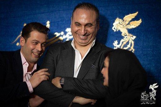 عکس | نگاه متعجب حمید فرخنژاد به سلفی گرفتن پژمان بازغی