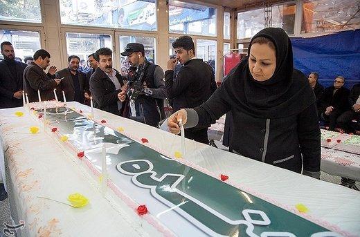 نمایشگاه شیرینی و شکلات در کرمانشاه
