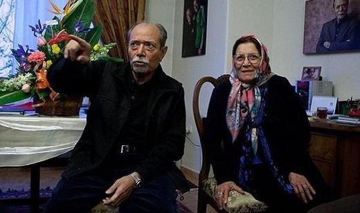 عکس | علی نصیریان در اختتامیه جشنواره فیلم فجر