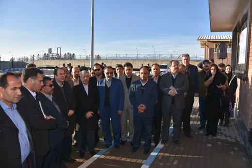 افتتاح تصفیهخانه ۳۰ هزار متر مکعبی در شهر جدید گلبهار