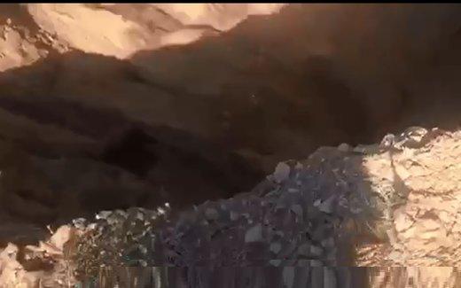 فیلم | فروچاله عمیق و جدید، این بار در فارس