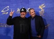 عکس | مهران غفوریان و جواد رضویان در آغوش هم