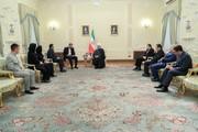 "Iran stresses support for ""legitimate government"" of President Maduro"