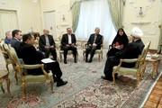 New Iranian ambassadors confer with President Rouhani