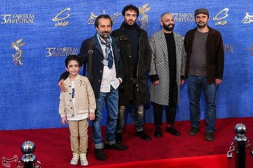 عوامل و بازیگران فیلم مسخره باز در چهارمین روز سیوهفتمین جشنواره فیلم فجر
